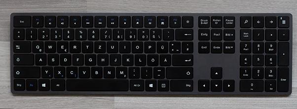 normale Tastatur